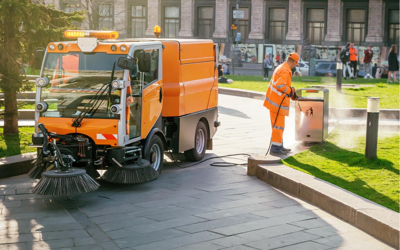 kommunal søppeltømming